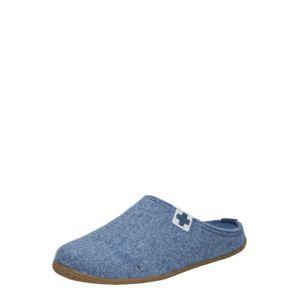 Living Kitzbühel Pantofle  chladná modrá