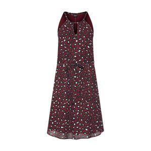 S.Oliver BLACK LABEL Šaty  červená / černá / bílá