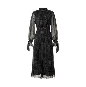 IVY & OAK Šaty  černá / bílá