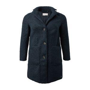 MY TRUE ME Přechodný kabát  modrý melír