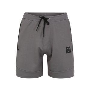 MOROTAI Sportovní kalhoty 'Interlock'  šedá