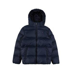 TOMMY HILFIGER Zimní bunda  noční modrá