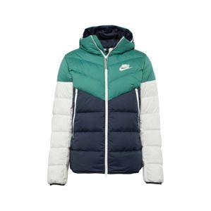 Nike Sportswear Zimní bunda  tmavě modrá / zelená