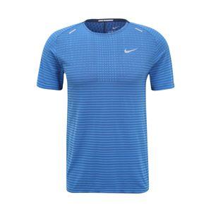 NIKE Funkční tričko 'TECHKNIT ULTRA SS'  modrá