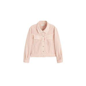 MANGO Přechodná bunda 'Lady'  světle růžová