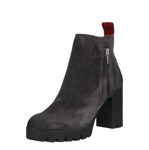 Marc O'Polo Kotníkové boty  černá