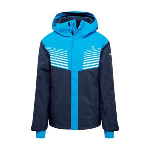 Schöffel Outdoorová bunda  námořnická modř / aqua modrá / bílá