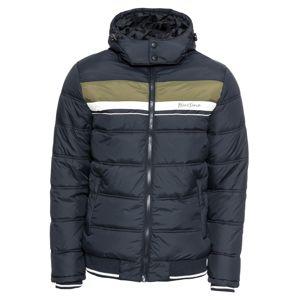 BLEND Zimní bunda 'Outerwear'  modrá / zelená / bílá