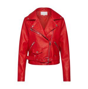 VILA Přechodná bunda  světle červená