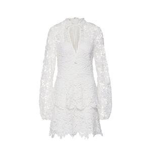 Missguided Košilové šaty 'CROTCHET LAYERED'  bílá