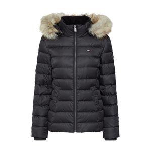 Tommy Jeans Zimní bunda  černá
