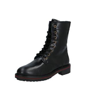 GANT Šněrovací kozačky 'Natalie Mid lace boot'  černá