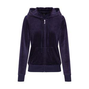 Juicy Couture Black Label Mikina s kapucí 'Velour Robertson'  námořnická modř