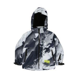 Molo Zimní bunda 'Alpine'  grafitová / antracitová / světle šedá / bílá