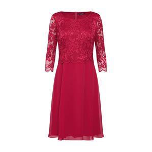 Vera Mont Koktejlové šaty  červená