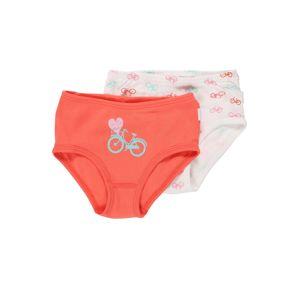 SCHIESSER Spodní prádlo  oranžově červená / bílá