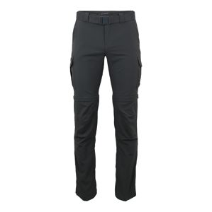 COLUMBIA Sportovní kalhoty 'Silver Ridge II converti'  tmavě šedá