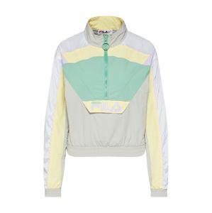 FILA Přechodná bunda 'CONCHITA'  světle šedá / smaragdová / mix barev