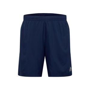 ADIDAS PERFORMANCE Sportovní kalhoty  modrá