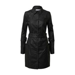 NU-IN Košilové šaty  černá
