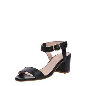 Apple Of Eden Páskové sandály 'Casey'  béžová / černá