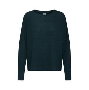 JACQUELINE De YONG Oversized tričko 'ASTA TREATS'  tmavě zelená