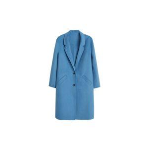 VIOLETA By Mango Přechodný kabát 'Bans6'  nebeská modř