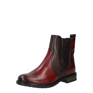 bugatti Chelsea boty '411-5693K-1111'  tmavě červená