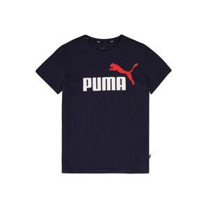 PUMA Funkční tričko  tmavě modrá / bílá / červená
