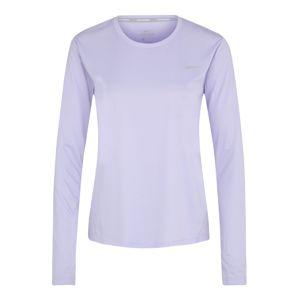 NIKE Funkční tričko 'MILER'  lenvandulová