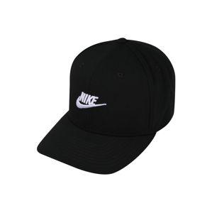 Nike Sportswear Kšiltovka  bílá / černá