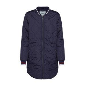 ONLY Přechodný kabát 'Dorah'  noční modrá / červená / bílá