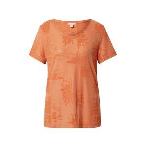 ESPRIT Tričko 'Burnout'  tmavě oranžová / oranžová