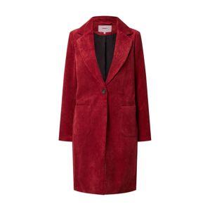 ONLY Přechodný kabát 'Astrid'  vínově červená