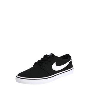 Nike SB Tenisky 'Solarsoft Portmore 2'  bílá / černá