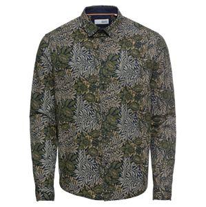 !Solid Košile 'Juan Flower LS'  béžová / khaki / olivová