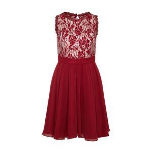 VM Vera Mont Koktejlové šaty  červená