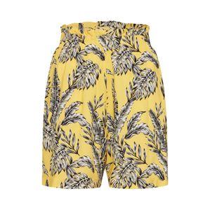 TOM TAILOR Kalhoty  žlutá / mix barev