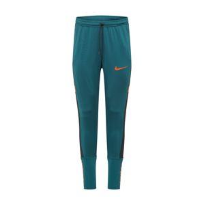 NIKE Sportovní kalhoty  oranžová / pastelová modrá / černá