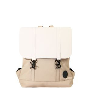 ENTER Batoh 'City Backpack'  béžová / přírodní bílá