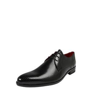 MELVIN & HAMILTON Šněrovací boty 'Toni 1'  černá