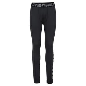 Superdry Sportovní kalhoty 'Carbon'  černá / šedá