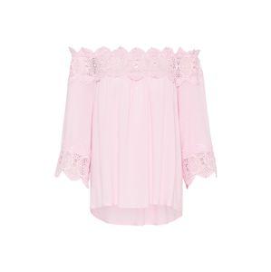 Cream Tunika 'Bea'  pink