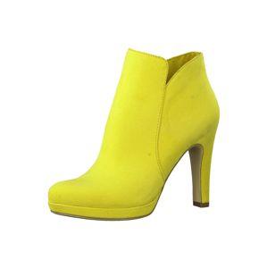 TAMARIS Kotníkové boty  svítivě žlutá