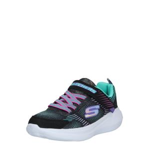 SKECHERS Tenisky 'GO RUN FAST'  černá / mátová / pink / fialová