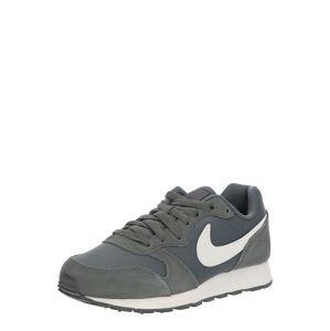 Nike Sportswear Tenisky 'NIKE MD RUNNER 2 PE (GS)'  šedá / přírodní bílá