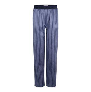 LACOSTE Pyžamové kalhoty  marine modrá / kouřově modrá