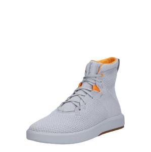 TIMBERLAND Kotníkové tenisky  šedá / oranžová