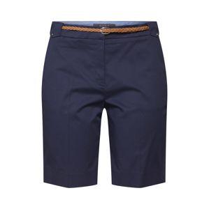 Esprit Collection Kalhoty s puky  námořnická modř