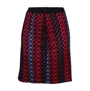 MAX&Co. Sukně 'PODIO'  modrá / červená / černá